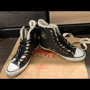 Limited edition Converse winter sneakers